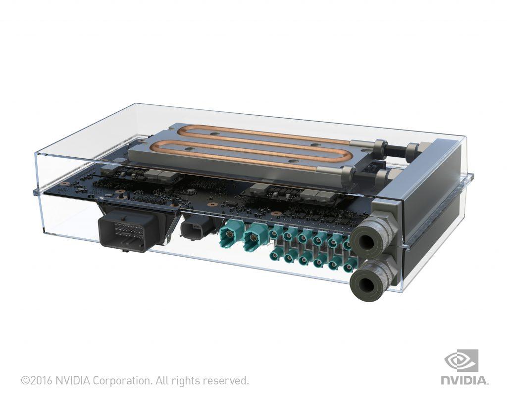 """Keine """"Black Box"""", sagt der Leiter der Automotive-Sparte von Nvidia, Danny Shapiro: Die Drive-PX-2-Steuerungseinheit von Nvidia"""